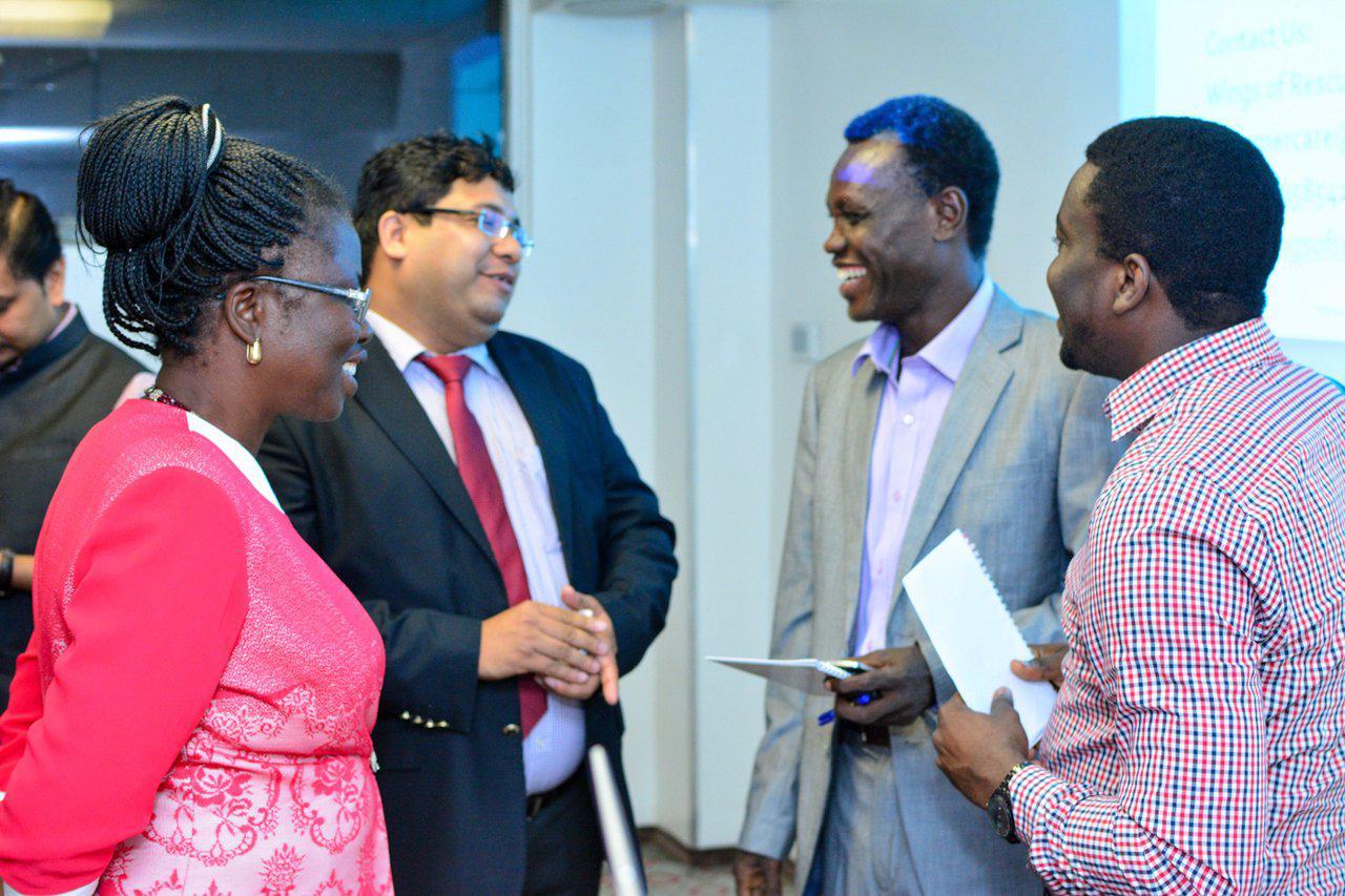 Principal Consultant HBG Medical Assistance Varun Aggarwal in Nigeria