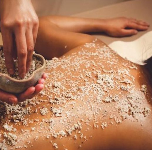Herbal Powder Kneading Therapy