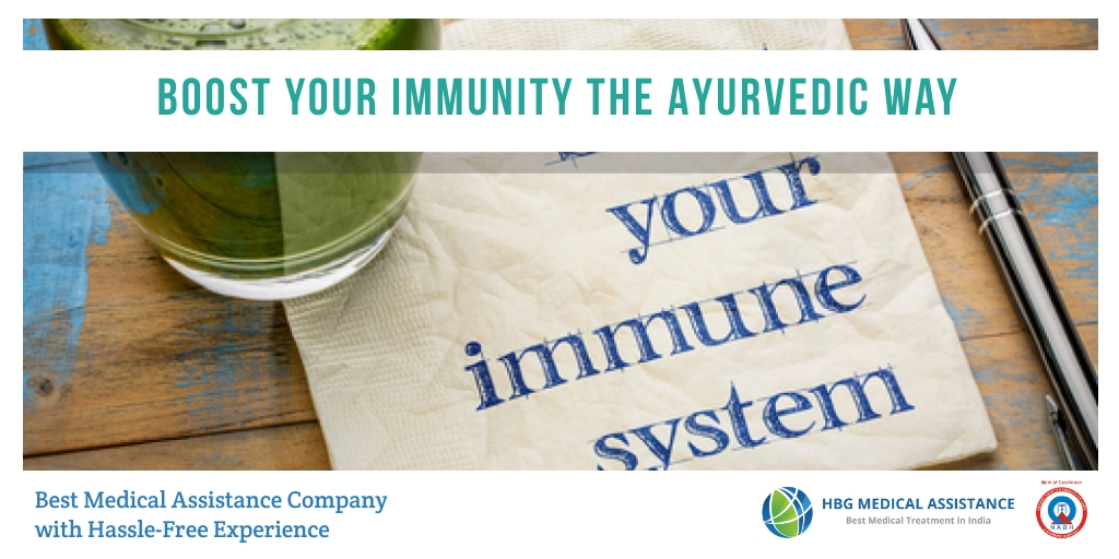 Boost your Immunity by Ayurveda Treatment in India