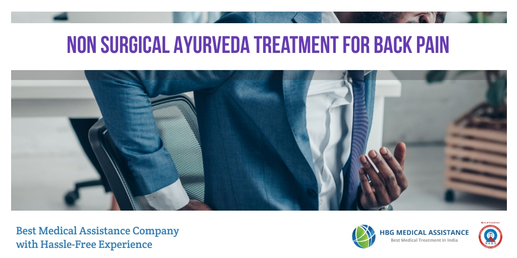 Ayurveda Treatment for Back Pain in India
