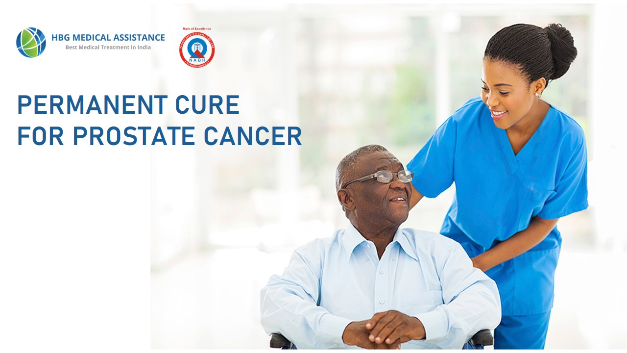 Permanent cure for prostate cancer
